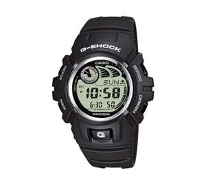G-2900F-8VER Men's Casio G Shock E data watch with 2 year guarantee £59.99 now £34.99 save over 41% @ Argos