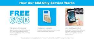SIM Only - Free Double Data Offer. 6GB for 6 months £7.99 @ Freedom pop