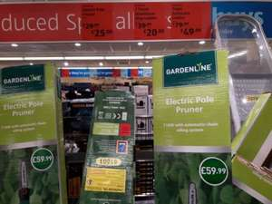 Aldi Electric Pole Pruner was £59.99. now £25