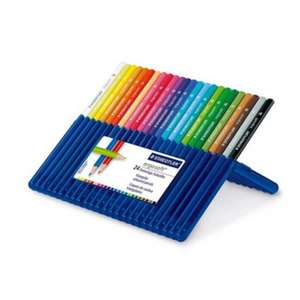 Staedtler ergosoft colouring pencils pack of 24 BOGOF £14.99 Ocado ( plus delivery cost)