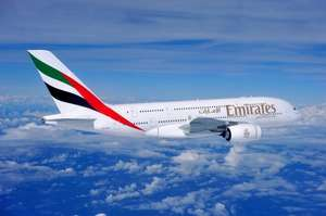 10% promotional off with Emirates airlines on booking with AMEX(Business/Economy excluding taxes) from from London Heathrow, London Gatwick, Birmingham, Manchester, Newcastle and Glasgow to all Emirates destinations; code - UKAMEX1