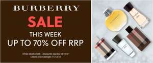 Allbeauty.com up to 70% off Burberry fragrances. Quidco cashback also