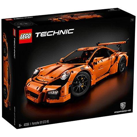 LEGO Technic 42056 Porsche 911 GT3 RS £174 (John Lewis online)