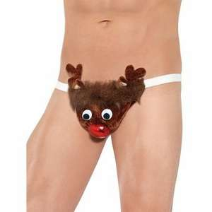 Lovehoney - Rude-olf Reindeer Sexy Novelty Thong £9.94 Delivered + discreet packaging + who know's?