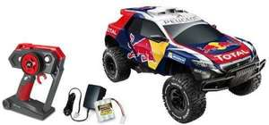 Nikko Peugeot 2008 Dkr Red Bull remote control car reduced from £96 £40 isntore @ Asda