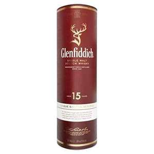 Glenfiddich 15 year old Whisky £30 free delivery at Amazon