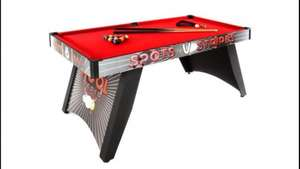5ft pool table was £130 now £59.99 @ Very with balls, cues ,chalk & Brush