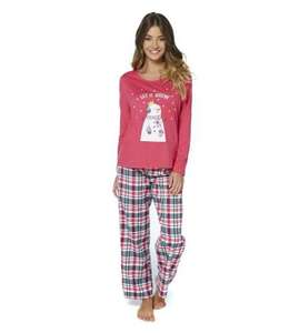 Christmas Pyjamas (ladies) £5.99 (code 016 for free delivery) at Studio!! Be quick!!!