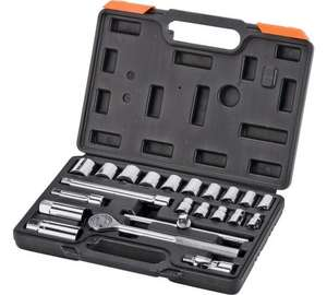 Challenge 22 Piece Metric Socket Set - £7.99 @ argos - Was £15.99