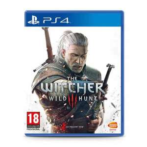 PS4 The Witcher 3 (Standard Ed) £14.99 at Smyths for C&C