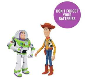 Toy Story Woody and Buzz Interactive Buddies £36.49 @ Argos