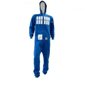 Doctor Who Adult Men's tardis onesie was £32.99 now £13.99 delivered with code @ Internet gift store