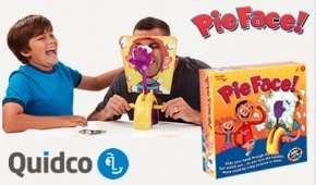 Free Pie Face Game worth £17 from Toys r Us for new Quidco sign ups