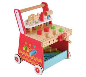 Early Learning Centre Activity WorkBench Walker £25.99 Delivered from ARGOS