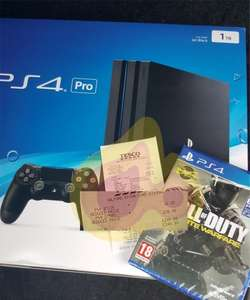 PS4 PRO 1TB + CALL OF DUTY - £249 instore @ Tesco (Salford)
