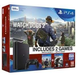 GREAT DEAL! PS4 Slim 500B Console PLUS Watchdogs 1 & 2 PLUS Fallout 4 PLUS Now TV 2 Month Sky Cinema Pass! £239.99 FREE delivery! @ GAME