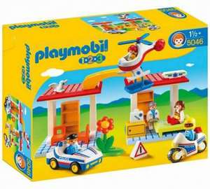 Playmobil 123 Police and Ambulance Playset - 5046  £12.99 @ Argos