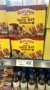 Old El Paso Garlic Paprika Crunchy Taco Kit 49p @ FarmFoods