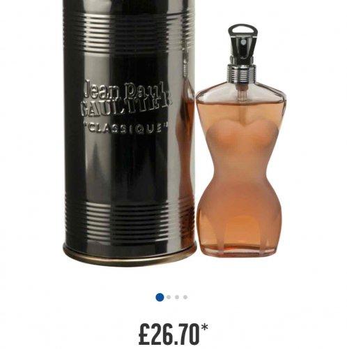 Jean Paul Gaultier Classique for Women-50ml £26.70 in Argos!