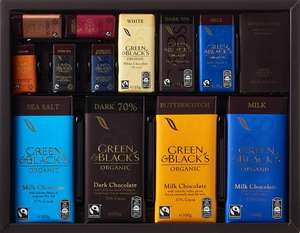 Green & Black's Organic Connoisseur Collection 580g £9 Booths instore