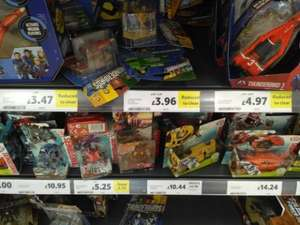 various thunderbirds items vehicles/figures from £4.97 instore @ Tesco