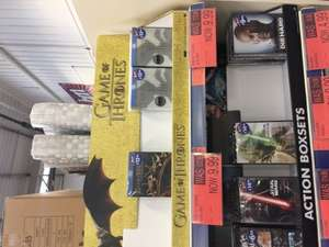Game Of Thrones Blu Ray sets £9.99 at B&M