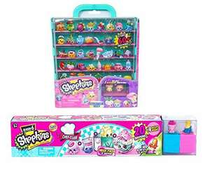 Shopkins Season 6 Chef Club Mega Pack with S5 Collector's Case Bundle @ Sold by ORANGE VALUE INC and Fulfilled by Amazon - £44.79