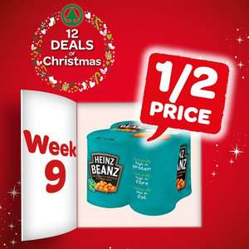 Heinz beans - £1.30 for 4 pack at Eurospar & Spar NI This week (instore)
