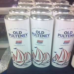 Old pulteney whiskey 70cl half price - £27 @ Booths