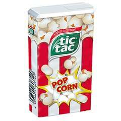 TicTacs Popcorn flavour - 6 for £1 in Heron