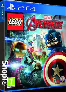 LEGO Marvel Avengers inc. Captain America & Ant-Man content (PS4) £14.86 Delivered @ Shopto