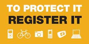 The National Property Register - protect your stuff