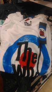 Official 'The Who' T-Shirts - Primark Wakefield - £5