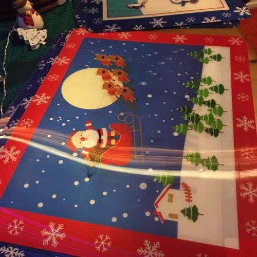 b&m Santa table matts 10p