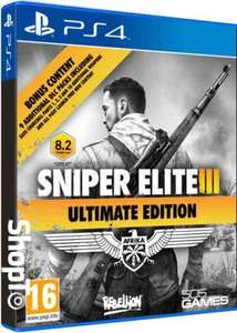 Sniper Elite III Ultimate Edition (PS4/Xbox One) £15.85 Delivered @ Shopto