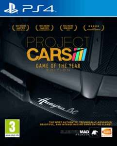 Project Cars Game of the Year Edition (PS4/XO) @ Game - £17.99