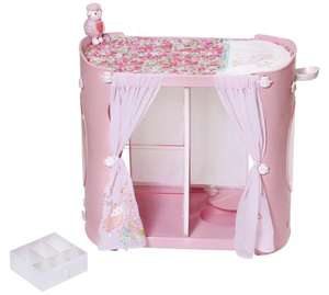 Baby annabell 2 in 1 changing table and wardrobe @ Argos (Free C&C)