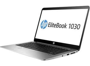 "HP Elitebook 1030 G1, Core-m5 fanless, 8GB RAM, 256 GB PCIE NVMe SSD, 13.3"" 3200x1800 touchscreen, NFC, 802.11ac, BT4.2, Win10 Pro, 1.16kg - £726 @ TechnoWorld"