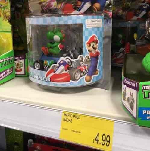 Mario Kart 8 Pull Back Racer £4.99 @B&M