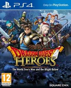 Dragon Quest Heroes: The World Tree's Woe and the Blight Below £11 @ GAME