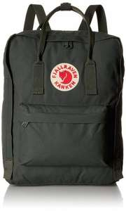Fjallraven Classic Kanken Backpack Forest Green with free home delivery @ Amazon.co.uk - £53.29