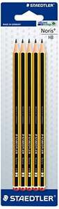 Staedtler Noris Pencils 5 pack 1/2 PRICE 75p WAS £1.50 TESCO DIRECT (FREE NEXT DAY C+C)