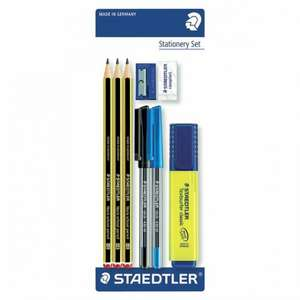 Staedtler Noris Stationary Set 1/2 PRICE £2.50 WAS £5 TESCO DIRECT (FREE NEXT DAY C+C)