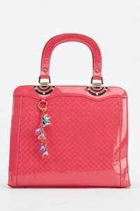 Classic High Shine Handbag for £8.99 delivered at everything5pounds