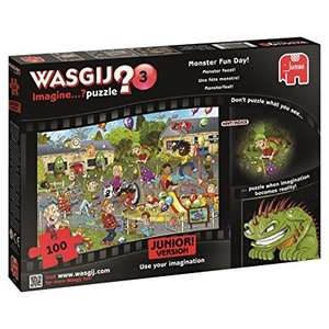 Junior wasgij jigsaws £1.99 each in Home Bargains