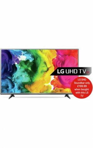 Buy LG 55UH615V 55 Inch Ultra HD 4K Web OS Smart LED TV £521 at Argos.co.uk