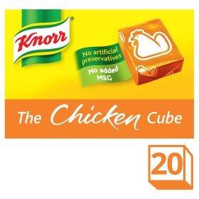 Knorr Chicken Stock Cubes 20x10g £2.00 @ ASDA