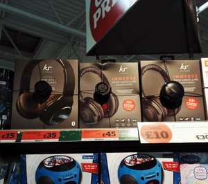 Kitsound Immerse Bluetooth Headphones £44.99 @ Amazon, £45 Sainsbury's