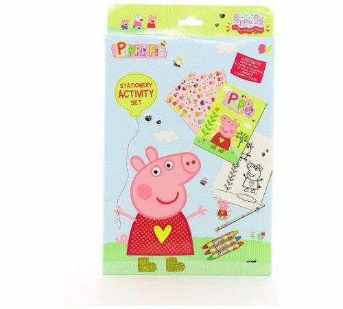 Peppa Pig Stationery Activity Set 49p @ Argos