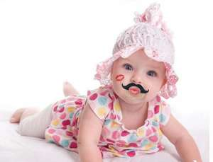 moustache and red lip dummy flash sale £2.25 @ gearbest free delivery